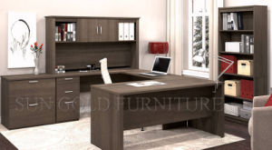 Luxury Boss Melamine Executive Desk (SZ-OD358) pictures & photos