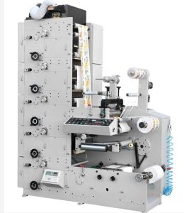 Label (LOGO) Flexo Printing Machine (4 color) pictures & photos