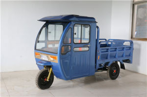 Closed Passenger Cargo Tricycle pictures & photos