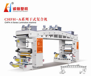 High Speed Plastic Film Dry Laminating Machine pictures & photos