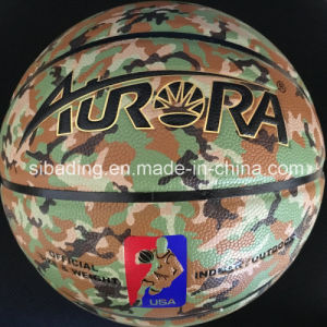PU Leather Laminated Basketball pictures & photos