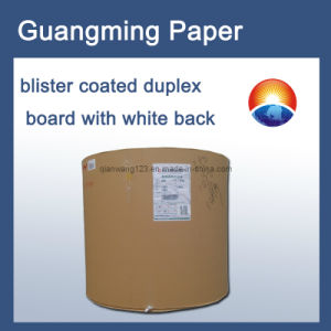 Blister Coated Duplex White Board Paper