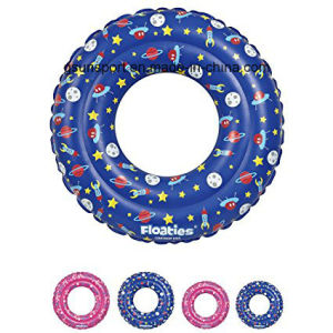 Kids Inflatable Tube Swim Ring - Swimming Pool Floats Water Rings