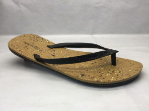 Fashion and Concise PVC Flip Flops Slippers (24ja1714) pictures & photos
