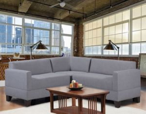 Modern Sectional Corner Fabric Sofa pictures & photos