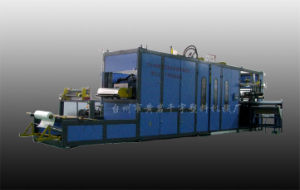Plastic Thermoforming Machine (ZFU-750B)