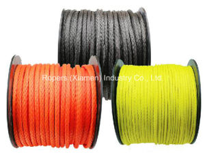 "1/2""X75′ Optima Line Winch Ropes, Synthetic Winch Line, UHMWPE Material pictures & photos"