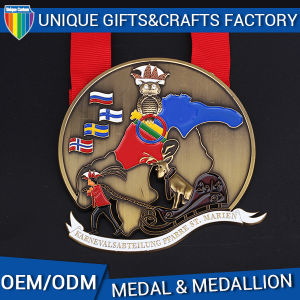 OEM Custom Medallion with Soft Enamel pictures & photos
