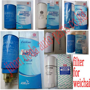 Filter for Weichai/612600081334, 621630080087, 612600081335, 430-1012020A, 6100070005, 612630010239, Vg1560080012