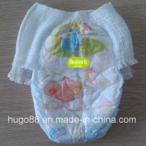 Soft Pull up Baby Diaper with Double Anti-Leak (DB005) pictures & photos