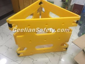 Yellow Temporary Road Safety Traffic Fence Barriers Road Traffic Barrier pictures & photos
