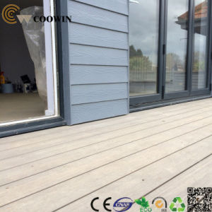 China Factory PVC Wood Cheap Composite Decking pictures & photos