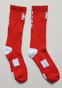 Wholesale Basketball Dri Fit Mens Sports Socks pictures & photos