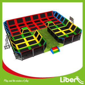 Certified Welders Used for Kids and Adult Trampoline Arena pictures & photos