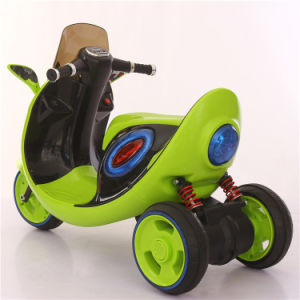 3 Falshing Light Wheels Kids Electric Motorbike pictures & photos