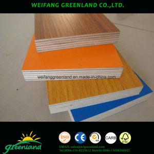 Envieonmental Grade Embossed Finish Laminated Plywood for Furniture pictures & photos