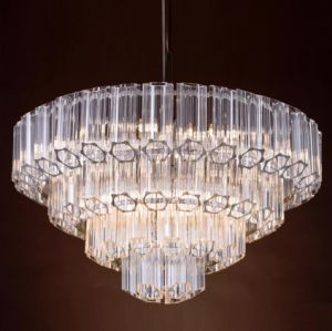 Glass Chandelier Lamp (WHG-8183) pictures & photos