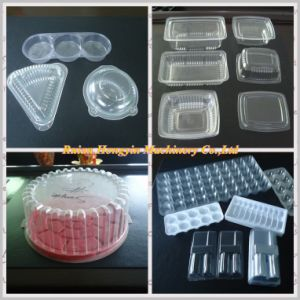 Automatic Plastic Thermoforming Machine with Stacker pictures & photos