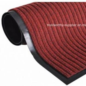 Red Ribbed Carpet with PVC Back pictures & photos