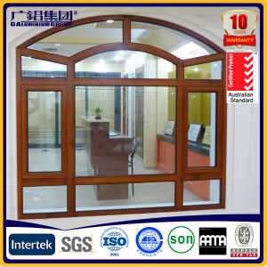 Commercial Prices for Tempered Glass Aluminium Windows pictures & photos