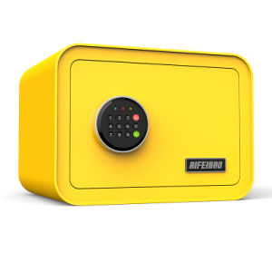 Security Digital Electronic Safe Box Yellow pictures & photos