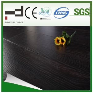 8mm CE Black Oak Embossed Finish Laminate Flooring pictures & photos