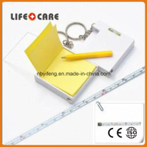 Promotion Mini Tape Measure with Note pictures & photos