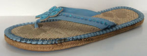 Ladies Knitting Fashion Slippers (515-9902) pictures & photos