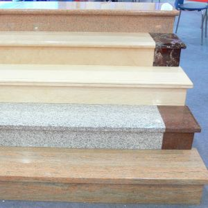 Granite Stair and Granite Steps with Riser pictures & photos