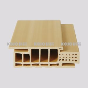 WPC Eco-Friendly Interior Decorative Door Frame (A2690) pictures & photos