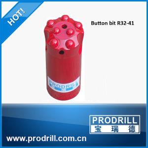 41mm R32 Button Bit on Drill Machine pictures & photos