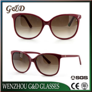 Summer Style Acetate Fashion Sunglasses for Woman Sc1018 pictures & photos