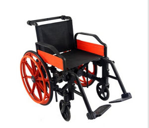 Plastic Wheelchair /Manual Wheelchairs pictures & photos