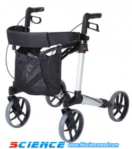 Aluminum Walking Aid Rollator Disabled People Rollator pictures & photos
