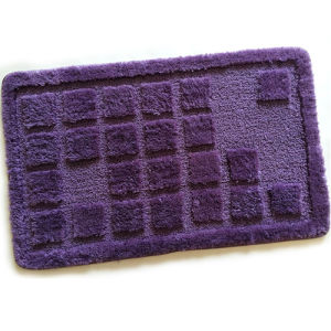 Solid Color Polyester Floor Mat