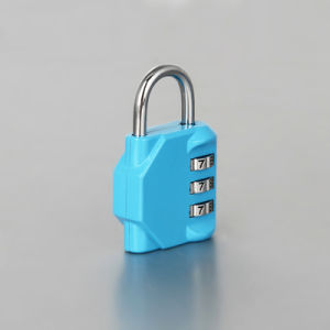 Commercial Resettable Combination Padlock Painted Finishing pictures & photos
