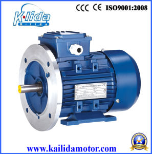 Ms Three Phase Aluminum Housing Electric Motor with Flange pictures & photos