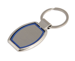 Promotional Gift Rotated Spinning Metal Key Ring with Plastic (F1015B)