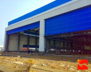 Steel Structure Hanger Building Door / Aircraft Automatic Hanger Door pictures & photos