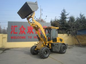 Hzm Zl15 Mini Wheel Loader with CE pictures & photos