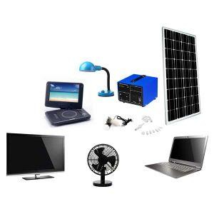 80W Portable Solar Energy System