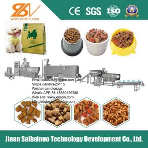 Extruded Stainless Steel Pet Food Production Machine pictures & photos