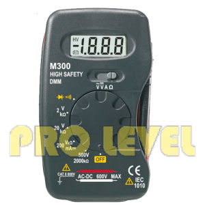 2000 Counts LCD Display Digital Multimeter (M300) pictures & photos