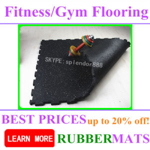 Promotion High Quality Noise Reduction Heavy Duty EPDM Rubber Flooring pictures & photos