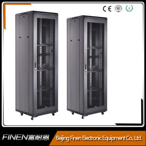 High Quality SPCC Rack Cabinet Manufacturer (vented mesh doors) pictures & photos