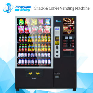 New Design Coffee Vending Machine with 4 Hot 4 Cold Dinks pictures & photos