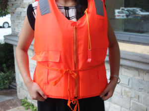 Foam Floating Fishing Kayak Life Jacket Safety Vest pictures & photos
