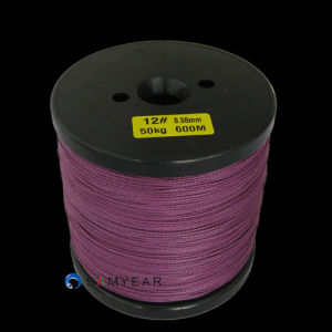 Fishing Tackle Purple Braided Fishing Line pictures & photos