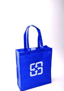 Stand up Loop Handle Non-Woven Bags for Textile (FLN-9044) pictures & photos