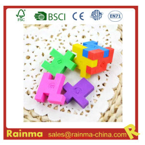 3D Magic Eraser with Puzzle Cube Shape pictures & photos